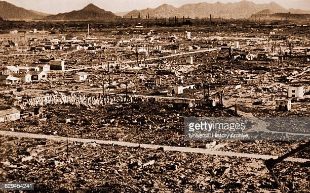 Ruins after the Atomic Bomb Hiroshima Japan 1945