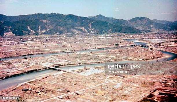 Hiroshima Japan after the dropping of the atom bomb in August 1945 On 6 August 1945 a United States Air Force B29 bomber codenamed 'Enola Gay'...