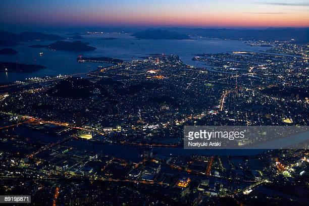 Hiroshima night view