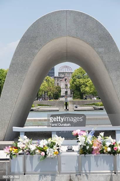 hiroshima peace memorial and a-bomb dome genbaku - cité de l'architecture et du patrimoine photos et images de collection