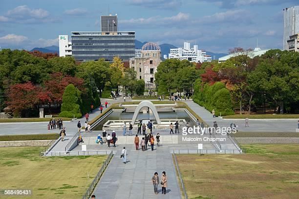 Hiroshima Peace Memorial Park and Cenotaph Hiroshima Japan