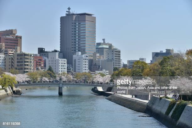 Hiroshima Peace Memorial (Landscape of Hiroshima near Atomic Bomb Dome)