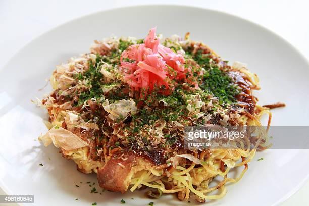 hiroshima-yaki - okonomiyaki stock pictures, royalty-free photos & images
