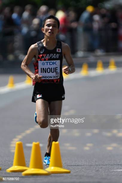 HirotoINOUE, Japan , during marathon in London on August 6, 2017 at the 2017 IAAF World Championships athletics.