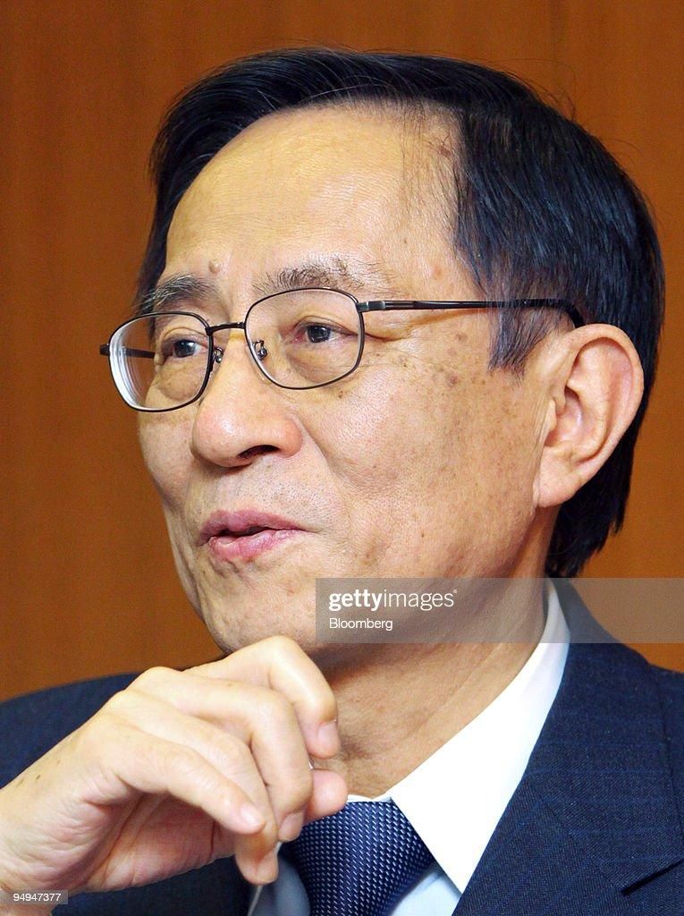 Hiroyuki Hosoda, secretary-general of the Liberal Democratic : News Photo