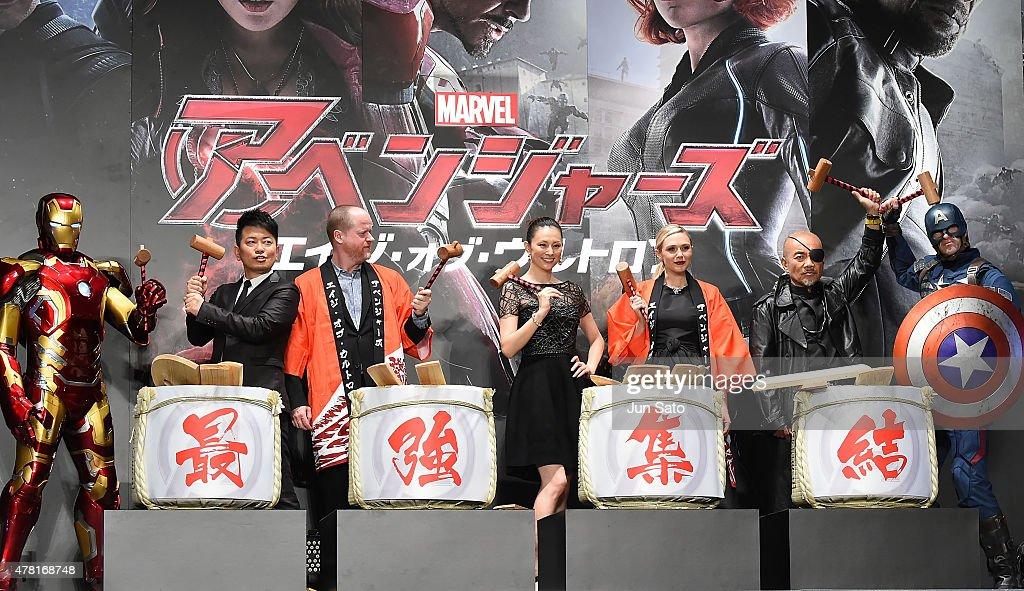 'Avengers: Age of Ultron' Japan Premiere : News Photo