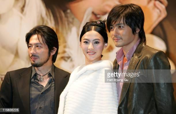 Hiroyuki Sanada and Cecilia Cheung and Jang DongGun