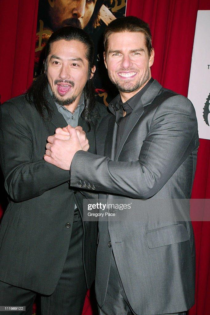 """""""The Last Samurai"""" New York Premiere - Inside Arrivals : ニュース写真"""