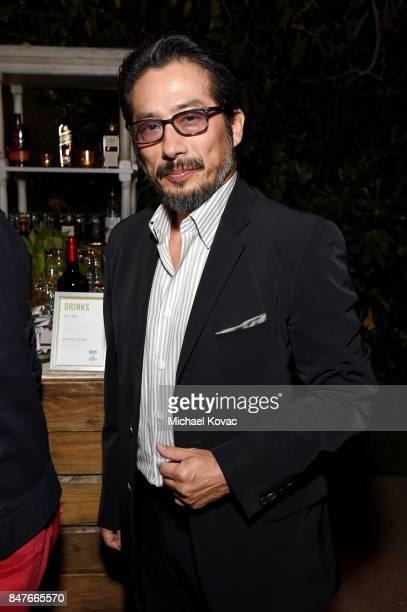 Hiroyuki Sanada attends the 2017 Gersh Emmy Party presented by Tequila Don Julio 1942 on September 15 2017 in Los Angeles California