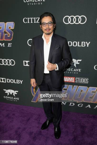 Hiroyuki Sanada attends the Los Angeles World Premiere of Marvel Studios' Avengers Endgame at the Los Angeles Convention Center on April 23 2019 in...