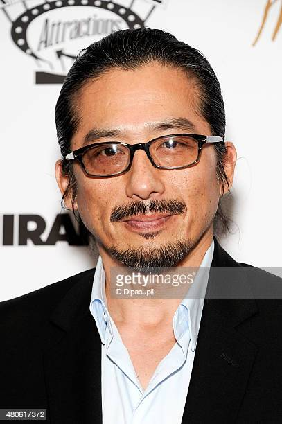 Hiroyuki Sanada attends the Mr Holmes New York Premiere at the Museum of Modern Art on July 13 2015 in New York City