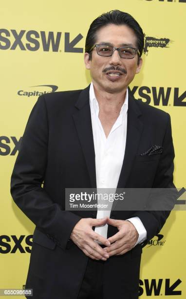 Hiroyuki Sanada attends the Premier of Life at the Zach Theatre during the 2017 SXSW Conference And Festivals on March 18 2017 in Austin Texas