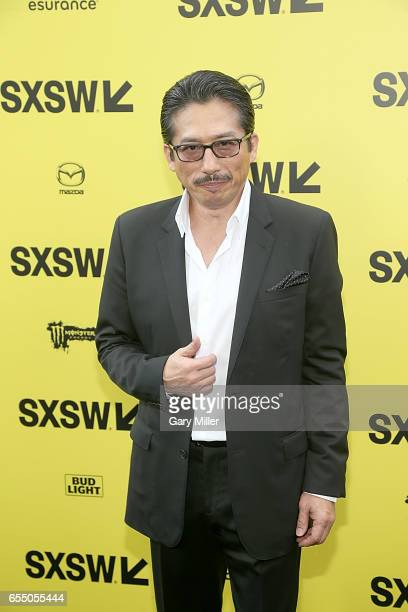 Hiroyuki Sanada attends the premiere of 'Life' at the Zach Scott Theater during South By Southwest Conference and Festival on March 18 2017 in Austin...