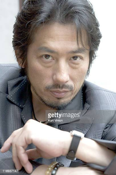 Hiroyuki Sanada during 56th Berlinale International Film Festival Hiroyuki Sanada Portrait Session at Hotel Intercontinental in Berlin Germany