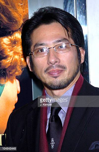 Hiroyuki Sanada during Merchant Ivory's The White Countess New York City Premiere Arrivals at The Paris Theatre in New York City New York United...