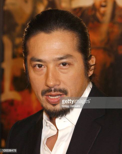 Hiroyuki Sanada during The Last Samurai Los Angeles Premiere at Mann Village Theatre in Westwood California United States
