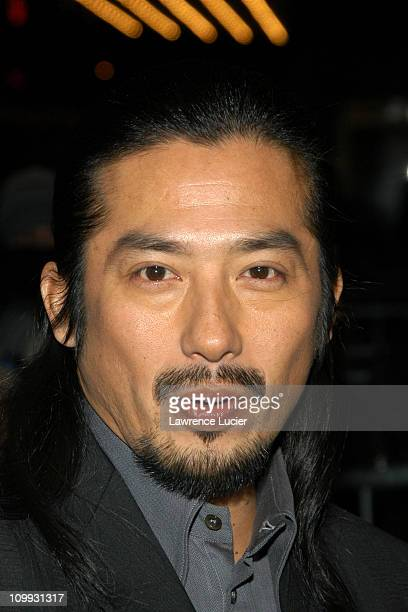 Hiroyuki Sanada during The Last Samurai New York Premiere at The Zeigfeld Theater in New York City New York United States