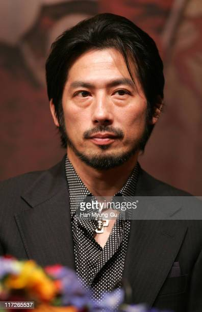 Hiroyuki Sanada during The Promise Press Screening in Seoul January 19 2006 at Shilla Hotel in Seoul South South Korea