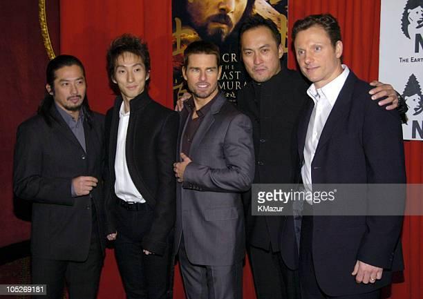 Hiroyuki Sanada , Shichinosuke Nakamura , Tom Cruise and Ken Watanabe