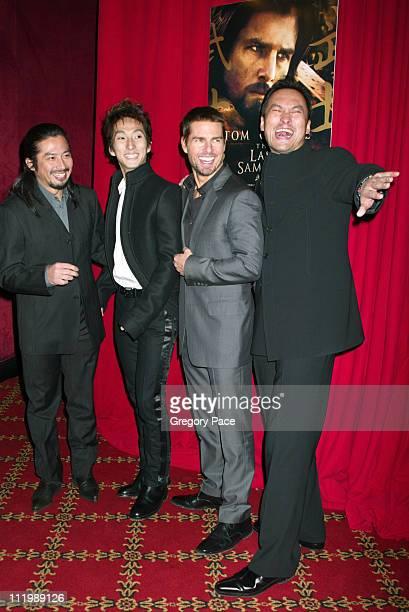 Hiroyuki Sanada, Shichinosuke Nakamura , Tom Cruise and Ken Watanabe