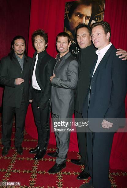 Hiroyuki Sanada, Shichinosuke Nakamura , Tom Cruise, Ken Watanabe and Tony Goldwyn