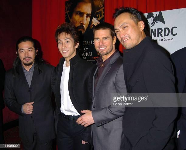 Hiroyuki Sanada Shin Koyamada Tom Cruise and Kan Watanabe