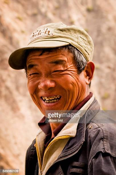 Hirte im Naturreservat Meili Xue Shan