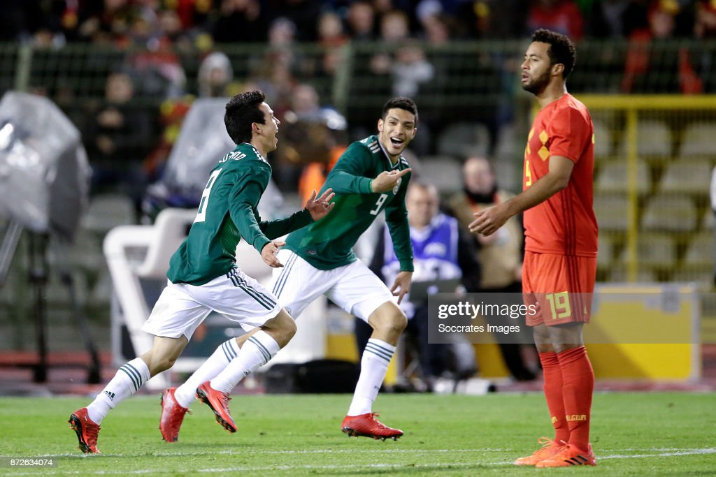 Belgium v Mexico - International Friendly
