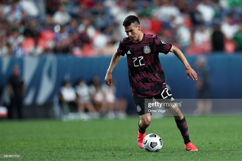 Mexico v Costa Rica: Semifinals - CONCACAF Nations League Finals : News Photo