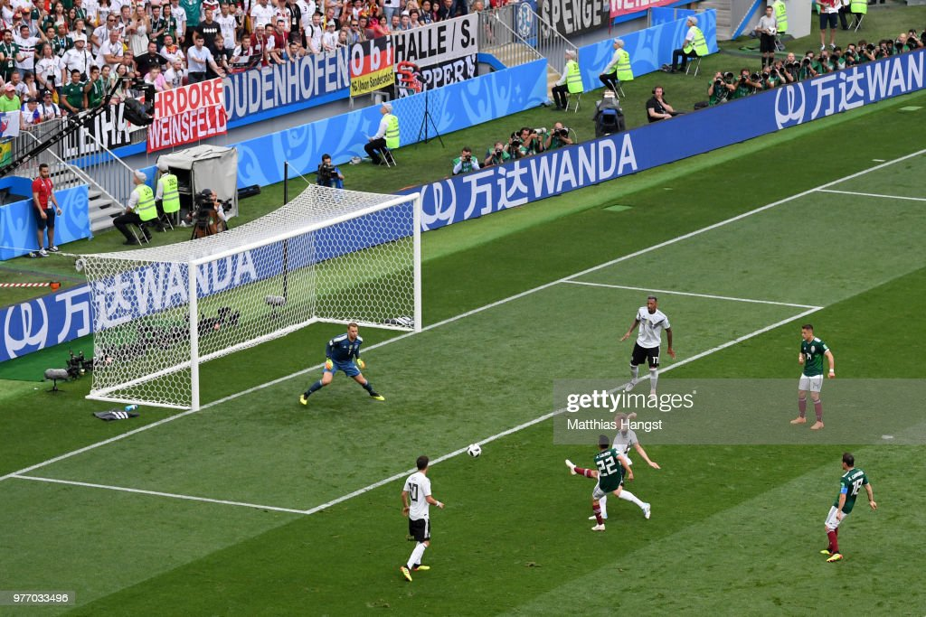 Mexico 1 - 0 Germany - 2018 FIFA World Cup