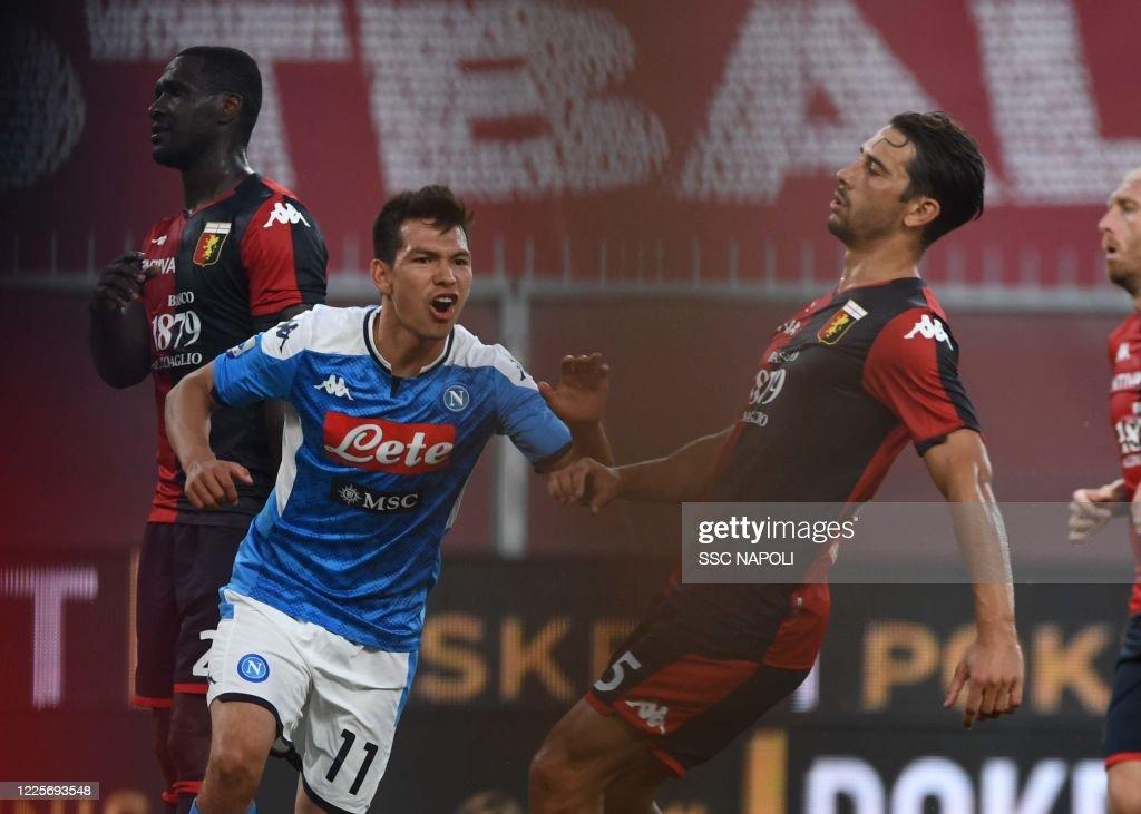 Genoa CFC v SSC Napoli - Serie A : News Photo