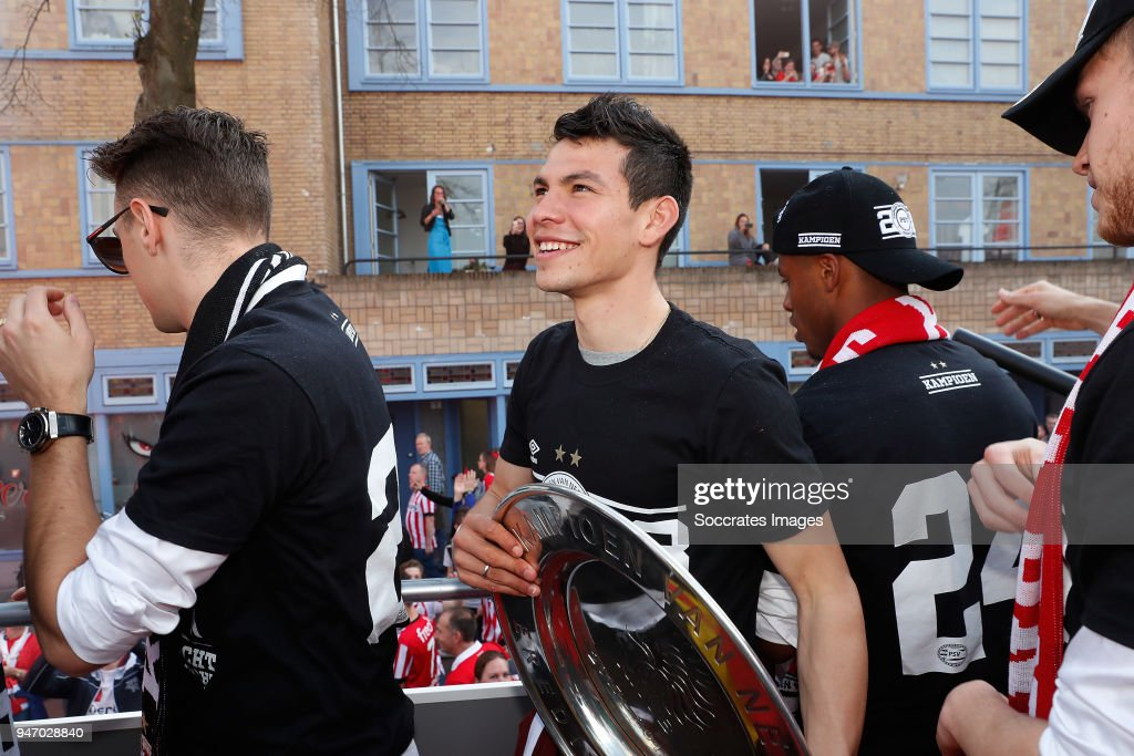 PSV champions parade : News Photo