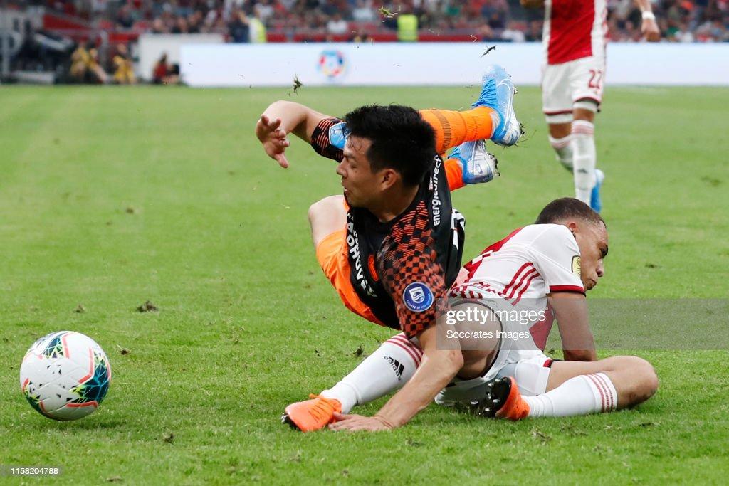 Ajax v PSV - Dutch Johan Cruijff Schaal : News Photo