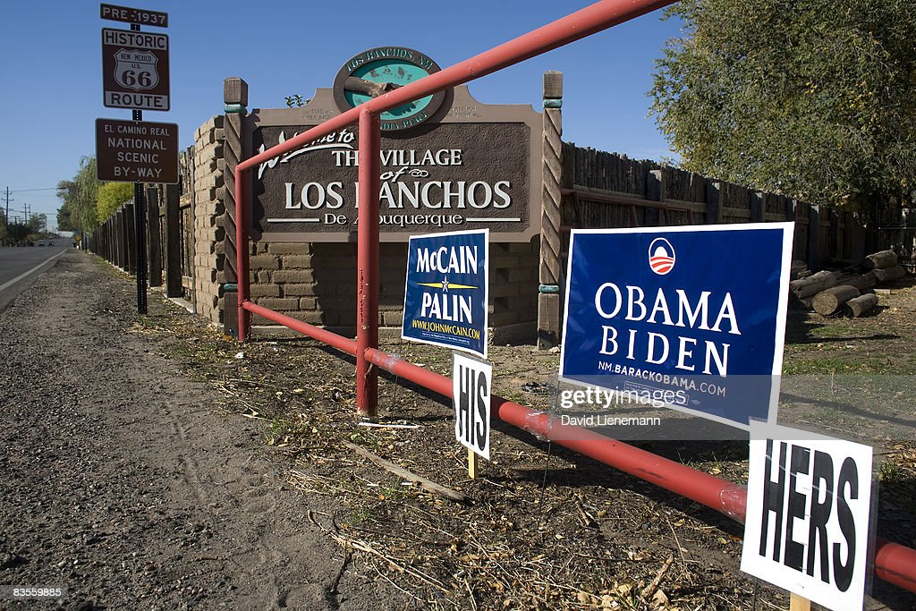 Americans Go To The Polls To Elect The Next U.S. President : News Photo