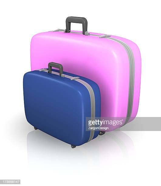 His and Hers Suitcases
