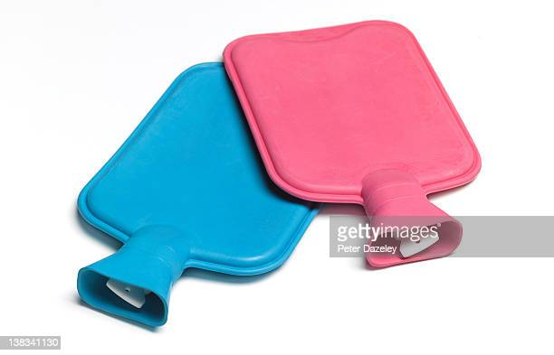His and Hers/Pink and Blue Hot Water Bottles