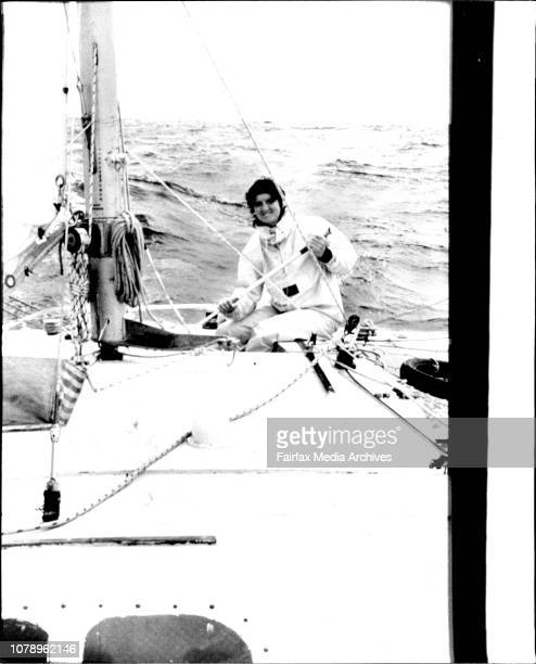 His companion 26 year old Cathy Hawkins of Clontarf in SydneyCathy Hawkins sailing towards three years of lonelinessThree lonely years are ahead for...