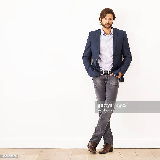 his confidence knows no bounds - smart casual stock pictures, royalty-free photos & images
