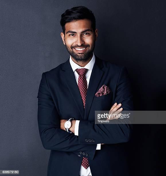 his confidence sets him apart from other entrepreneurs - povo indiano - fotografias e filmes do acervo