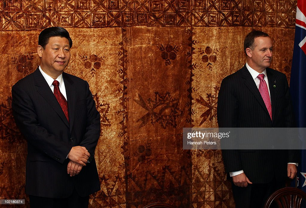 Vice President Of China Visits New Zealand - Day 2 : News Photo