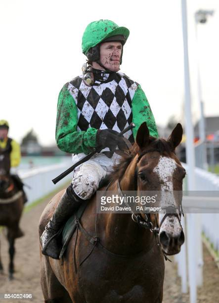 His Excellency ridden by jockey Tony McCoy following The Jenny Mould Memorial Handicap Chace