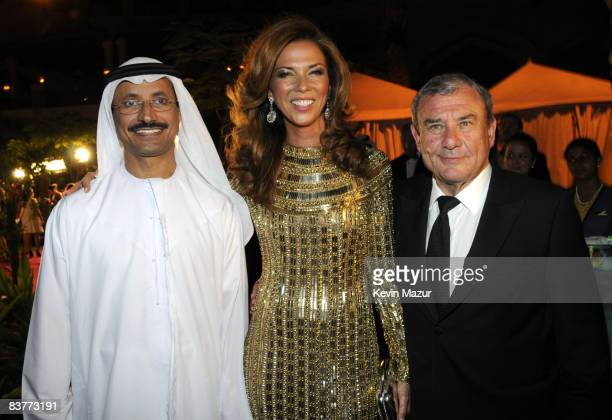 His Excellency Sultan Ahmed Bin Sulayem Chairman and CEO of Nakheel Heather Kerzner and Sol Kerzner Chairman and CEO of Kerzner International attend...