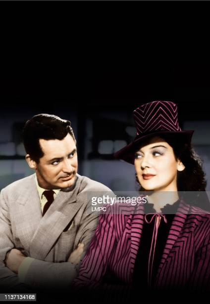 His Girl Friday poster Cary Grant Rosalind Russell 1940