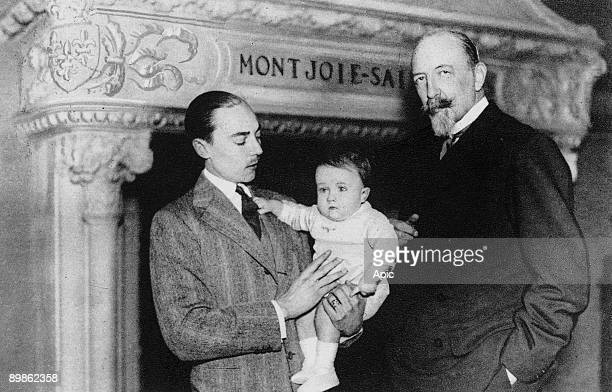 His Grace the duke of Guise count of Paris Henri of Orleans and his son Prince Henri of Orleans 1934