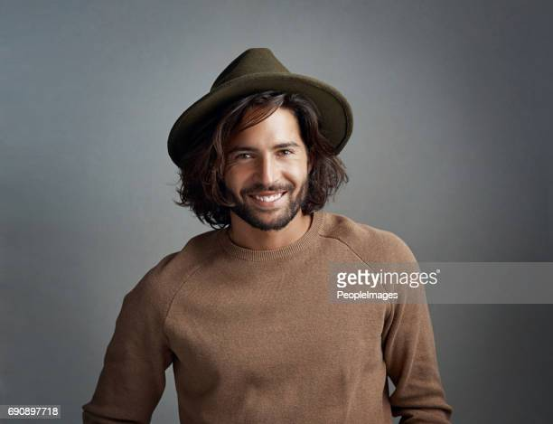 his hat game is strong - wide brim stock pictures, royalty-free photos & images