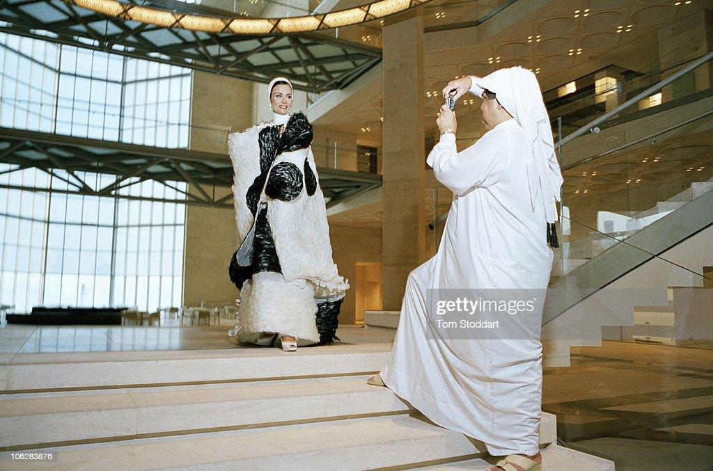QAT: The Emir Of Qatar : News Photo