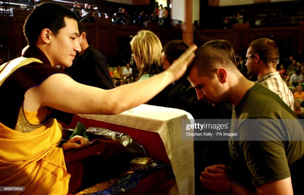 Living buddha and lamas in cricket gear pictures getty images his holiness 17th karmapa trinlay thaye dorje left during a visit to london where altavistaventures Choice Image