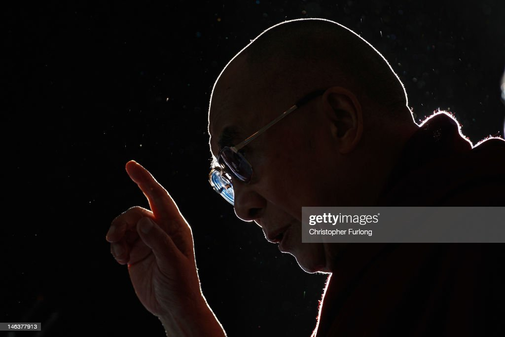 The Dalai Lama Visits The UK : News Photo