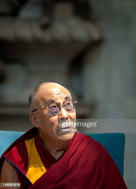 His Holiness the Dalai Lama attends a multifaith service entitled 'A Moment of Prayer and Reflection in the presence of His Holiness the Dalai Lama'...