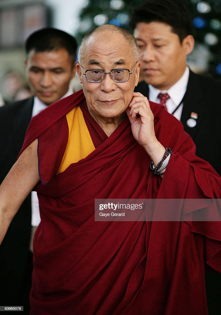 His Holiness the Dalai Lama looks on during the 'The Mind & Its Potential' conference at the Sydney Convention & Exhibition Centre on December 3, 2009 in Sydney, Australia. His Holiness, the 14th Dalai Lama will present the Science of Mind forum with 40 of the world's leading scientists.